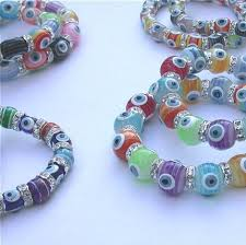 swarovski evil eye bracelet images 6 swarovski crystal stretch multicolor evil eye bracelet wholesale jpg