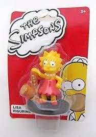 simpsons lisa simpson saxophone action figure figurine