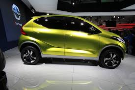 nissan datsun hatchback new datsun redi go concept hints at small cuv for india