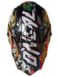 motocross kids gear oneal black multi 2018 7series evo crank mx helmet oneal