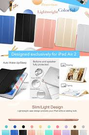 Colors For Sleep Amazon Com Ipad Air 2 Case Esr Smart Case Cover Synthetic