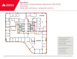 indiana convention center floor plan 300 e lombard st baltimore md 21202 property for lease on