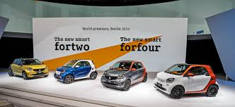 stanced smart car 2016 smart fortwo and forfour world debut live photos