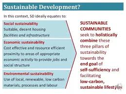 why is it important that communities be sustainable quora