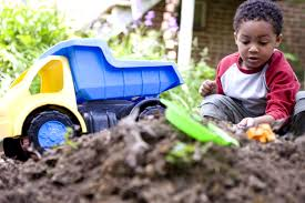 free picture young african american boy fun imaginative play