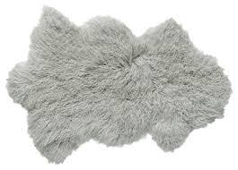 Mongolian Faux Fur Rug Mongolian Lamb Fur Rugs Houzz