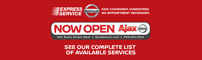 nissan canada customer service ajax nissan toronto u0027s 1 new u0026 used nissan dealership