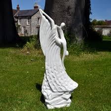 the dancers modern garden statue large contemporary sculpture