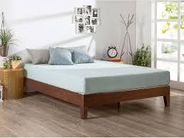 solid wood bed frame queen solid wood platform bed frame for