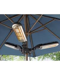 Stainless Steel Patio Heater Great Deals On Electric Stainless Steel 1500w Quartz Parasol