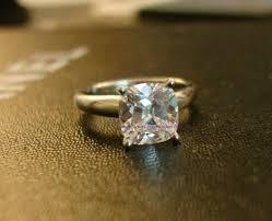 gold cushion cut engagement rings cut engagement rings simple cushion cut diamond engagement