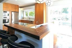 cuisine bois beton comptoire de cuisine comptoir cuisine bois racnovation clac en