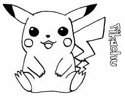 innovative pikachu coloring pages best colorin 3689 unknown