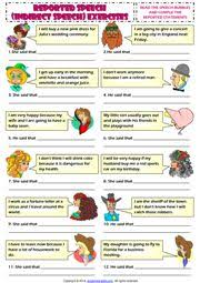 18 best indirect speech images on pinterest indirect speech