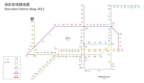Shenzhen Metro Map by Visitor Info
