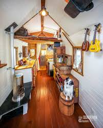 how one couple quit their jobs built a tiny house on wheels and tiny house giant journey mobile home jenna guillame