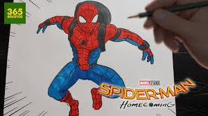como dibujar spiderman homecoming how to draw spider man