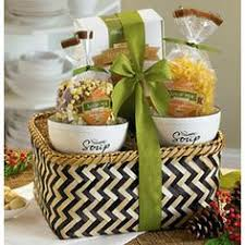soup gift baskets healthy gift basket of assorted nuts apples and potted plant