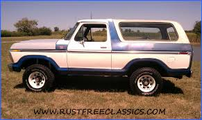 blue bronco car 1978 bronco ranger xlt blue white white top 4x4 4 speed 78