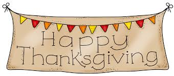 happy thanksgiving banner clipart clipartxtras