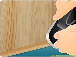 Wood To Make Cabinets How To Make Cabinet Doors 9 Steps With Pictures Wikihow
