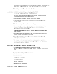 Sample Resume For Purchasing Agent Buying Assistant Resume Sales Assistant Lewesmr