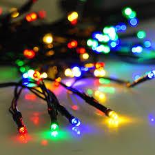 solar power led lights 100 bulb string solar powered 100 led string fairy tree light outdoor holiday