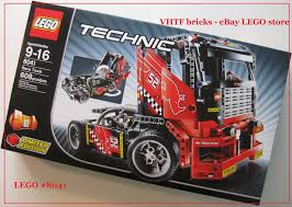 lego technic truck lego technic 8041 race truck 2 in1 car limited edition 608pcs vhtf