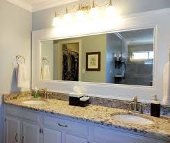 Framing Builder Grade Bathroom Mirror 11 Best Frames For Existing Mirrors Images On Pinterest Bathroom