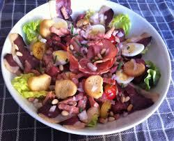 salade verte cuite recette cuisine salade périgourdine la cuisine de fanie