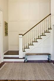 How To Install A Banister 25 Lovely Entries And Staircase Remodels Wainscoting Stairs