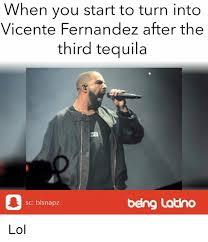Vicente Fernandez Memes - when you start to turn into vicente fernandez after the third