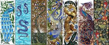victorian tiles english arts u0026 crafts tiles william morris