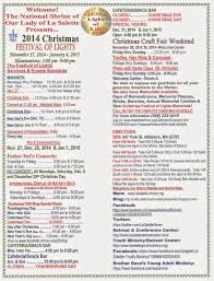 la salette christmas festival of lights november 27 2014 through