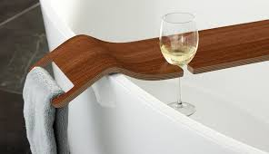 Wine Glass Holder For Bathtub Bathing With Wine Victoria Albert U0027s Tombolo Bath Caddy