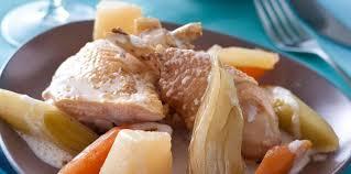 cuisine pot au feu pot au feu de poulet facile et pas cher recette sur cuisine