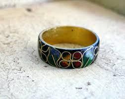 asian dolphin ring holder images Cloisonne ring etsy jpg