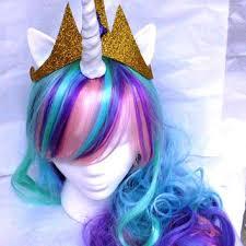 My Little Pony Halloween Costume Shop My Little Pony Wigs On Wanelo