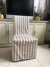 Striped Dining Chair Slipcovers Striped Furniture Slipcovers Ebay