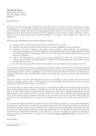 audit trainee cover letter