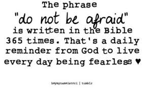 so how many times is fear not actually in the bible musings of a