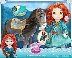 disney pixar brave merida angus doll forest adventure