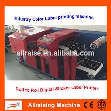 digital zebra label printer cmyk color sticker label printer roll