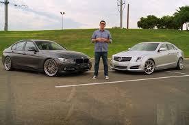 cadillac ats vs bmw d3 cadillac ats and european car s bmw 335i compared