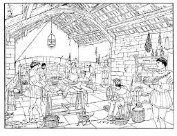 pages home coloring difficult medieval 553409 coloring pages for