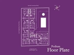 Podium Floor Plan by Azizi Iris Residence Floor Plan S