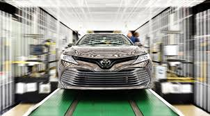 2018 toyota camry production kicks off in kentucky the torque report