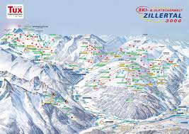 Piste Maps For Italian Ski by Bergfex Piste Map Tux Finkenberg Panoramic Map Tux