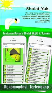 tutorial sholat dan bacaannya tuntunan bacaan sholat wajib dan sholat sunnah app price drops