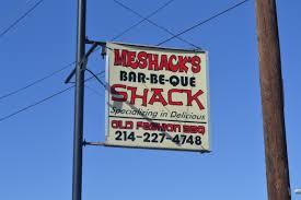 meshack u0027s bar be que u2013 garland texas
